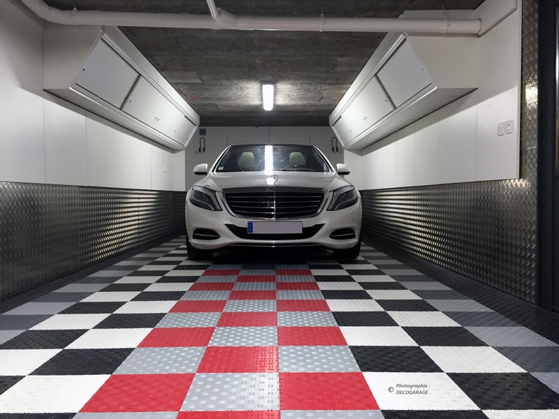 Un sol de garage toujours propre