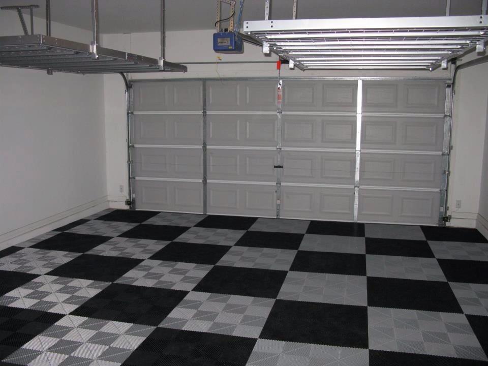 dalle de sol pour garage voiture
