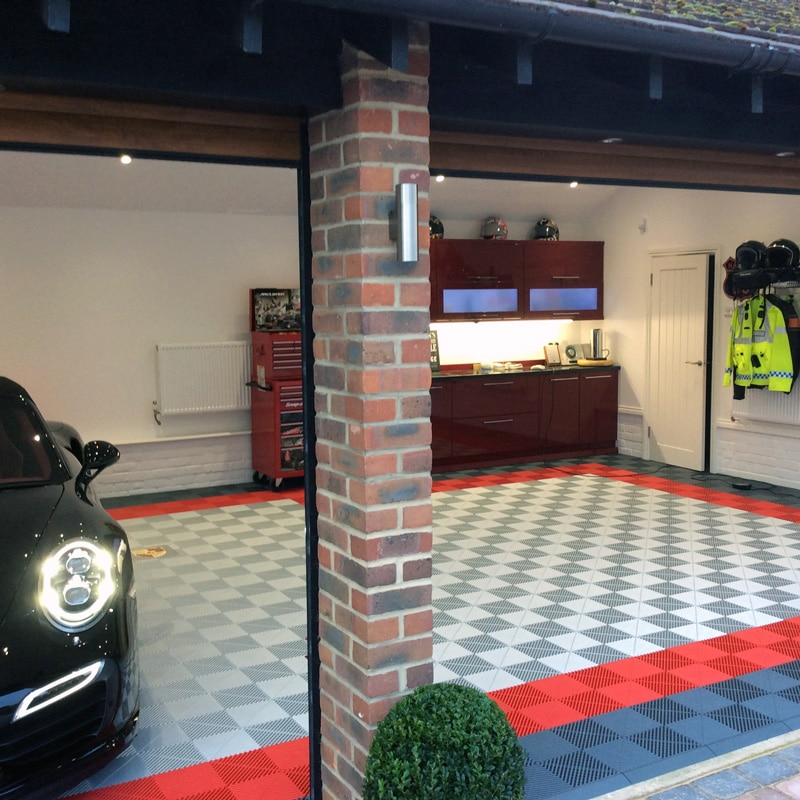 Dalles de sol pour garage particuliers installation par for Dalle led pour garage