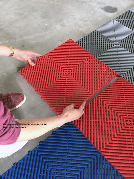 Installation de votre sol de garage
