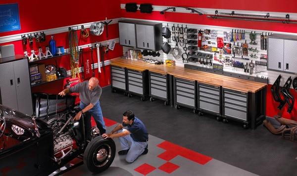 Garage de passionné