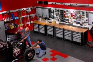 garage pour passionné