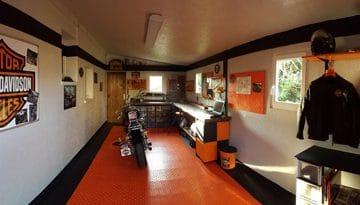 garage Harley Davidson