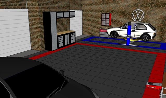 garage floor designer