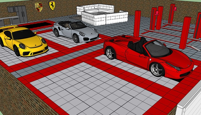 Simulation garage