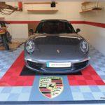 dalle pour garage voiture