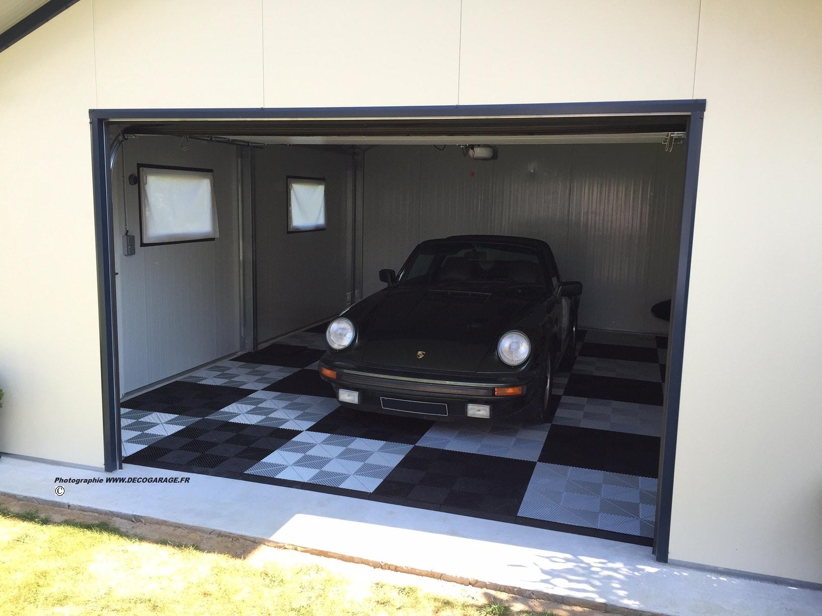 excellent sol pour garage with dalle pvc clipsable garage. Black Bedroom Furniture Sets. Home Design Ideas