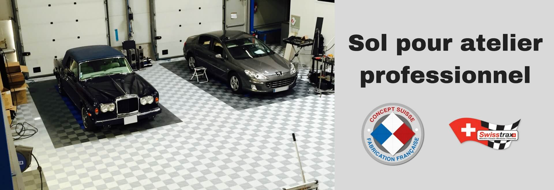 Dalles de sol clipsables dalles pour garage sol modulable - Dalle de sol pour garage ...