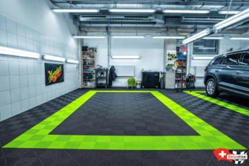 Boden für Detailing-Center / Auto-Detailing