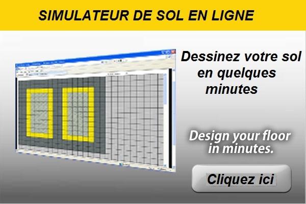 un simulateur de sol garage