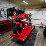 sol pour atelier moto