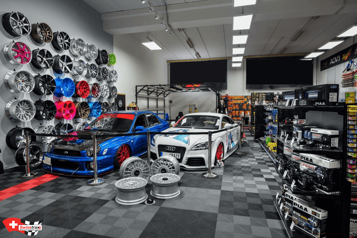 Exposition accessoires automobiles
