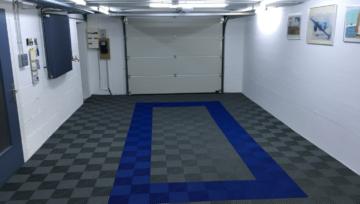 Dalles de sol pour garage, quelles couleurs choisir ?