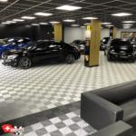 sol pour garage automobile