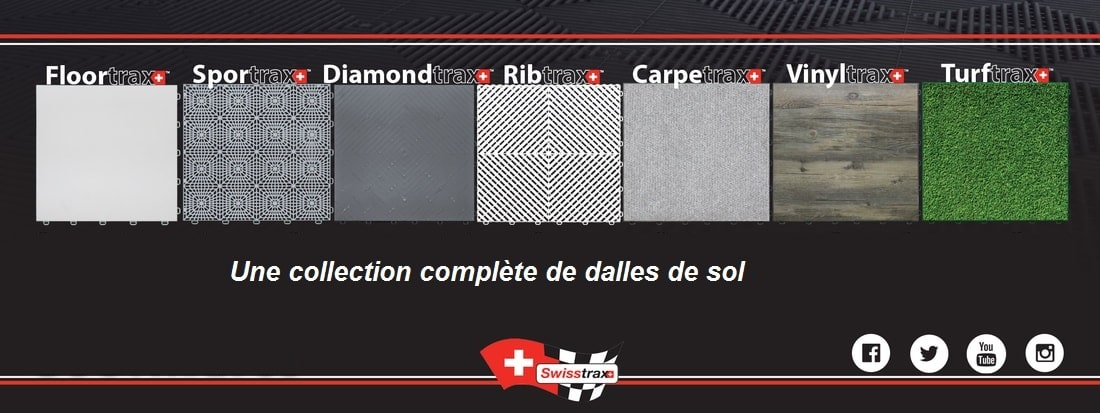 collection des dalles de sol swisstrax