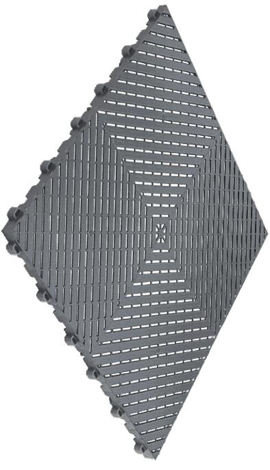 Dalles de sol polypropylène clipsables