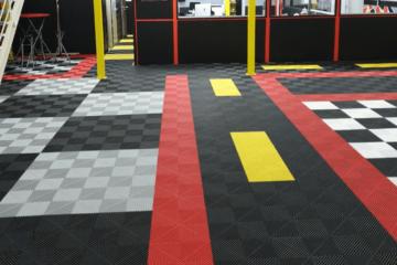 sol pour garage professionnel