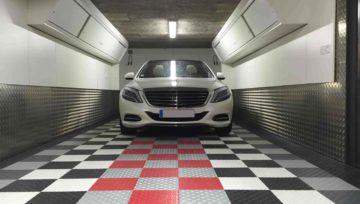 Carrelage pour garage : Le carrelage plastique SWISSTRAX