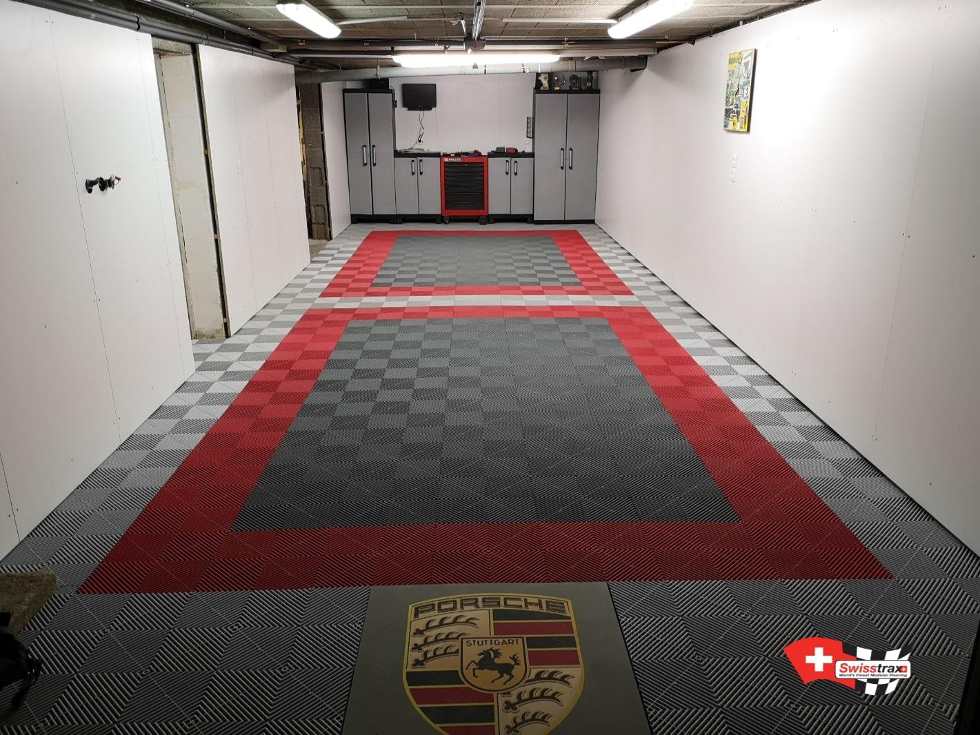 sol pour double garage