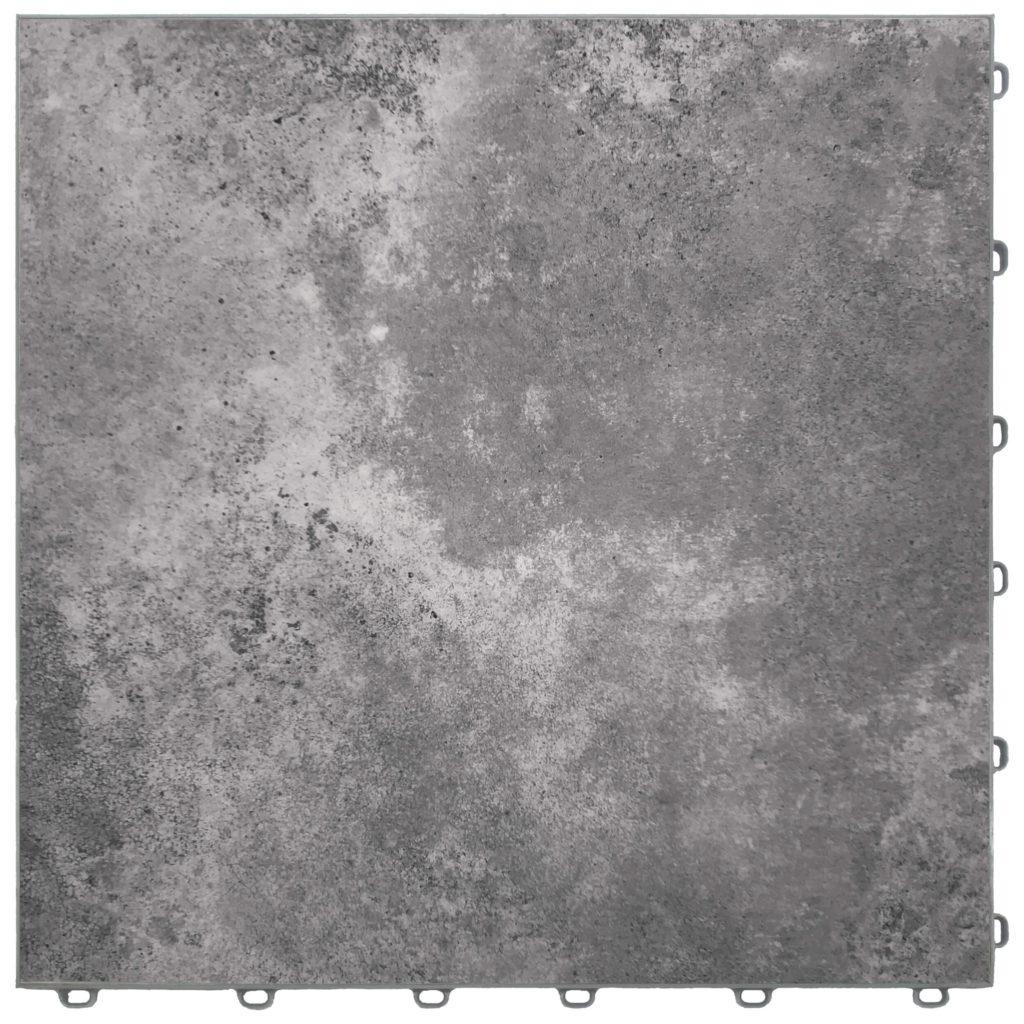 dalle de sol effet marbre gris