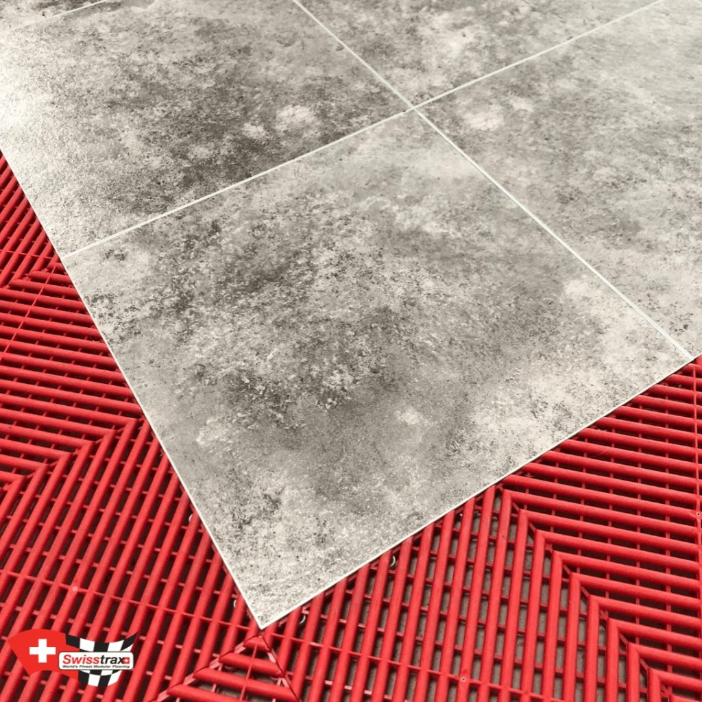 sol clipsable imitation carrelage