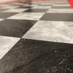 sol effet marbre noir