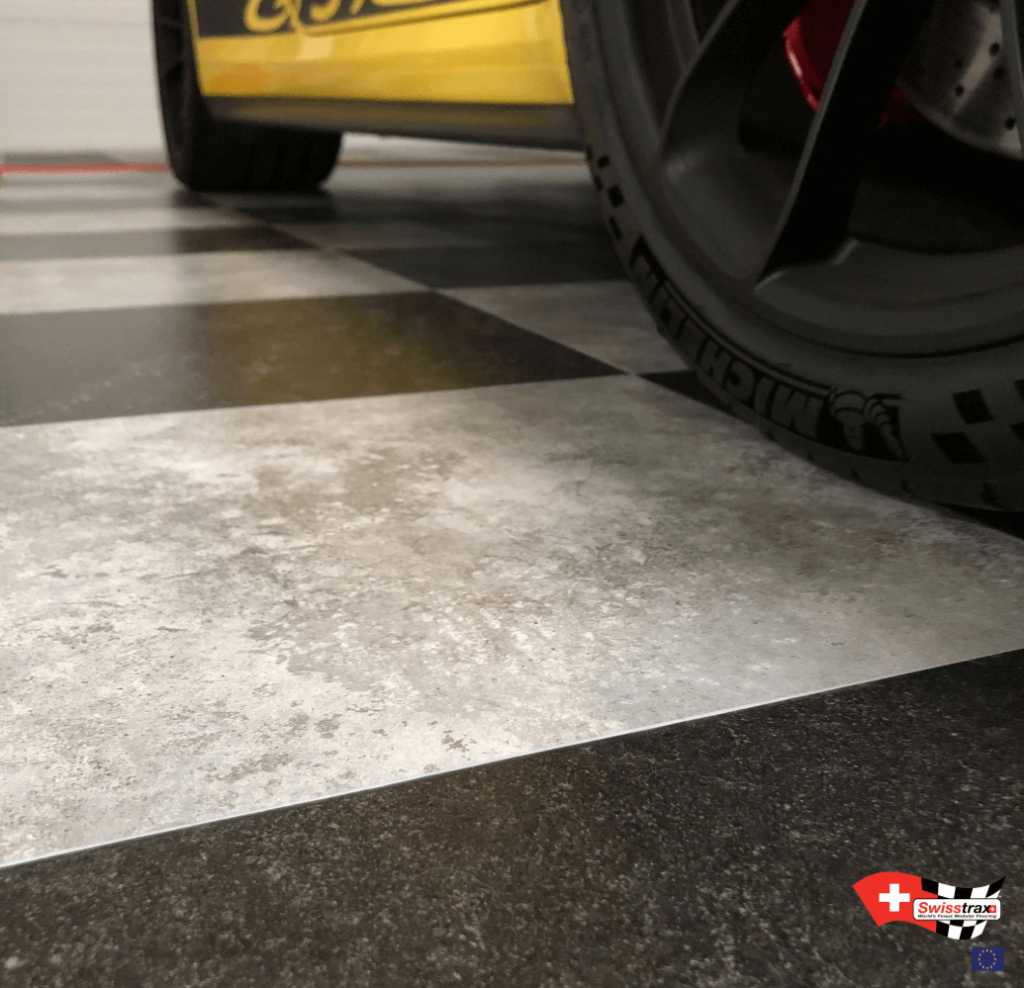 carrelage de garage