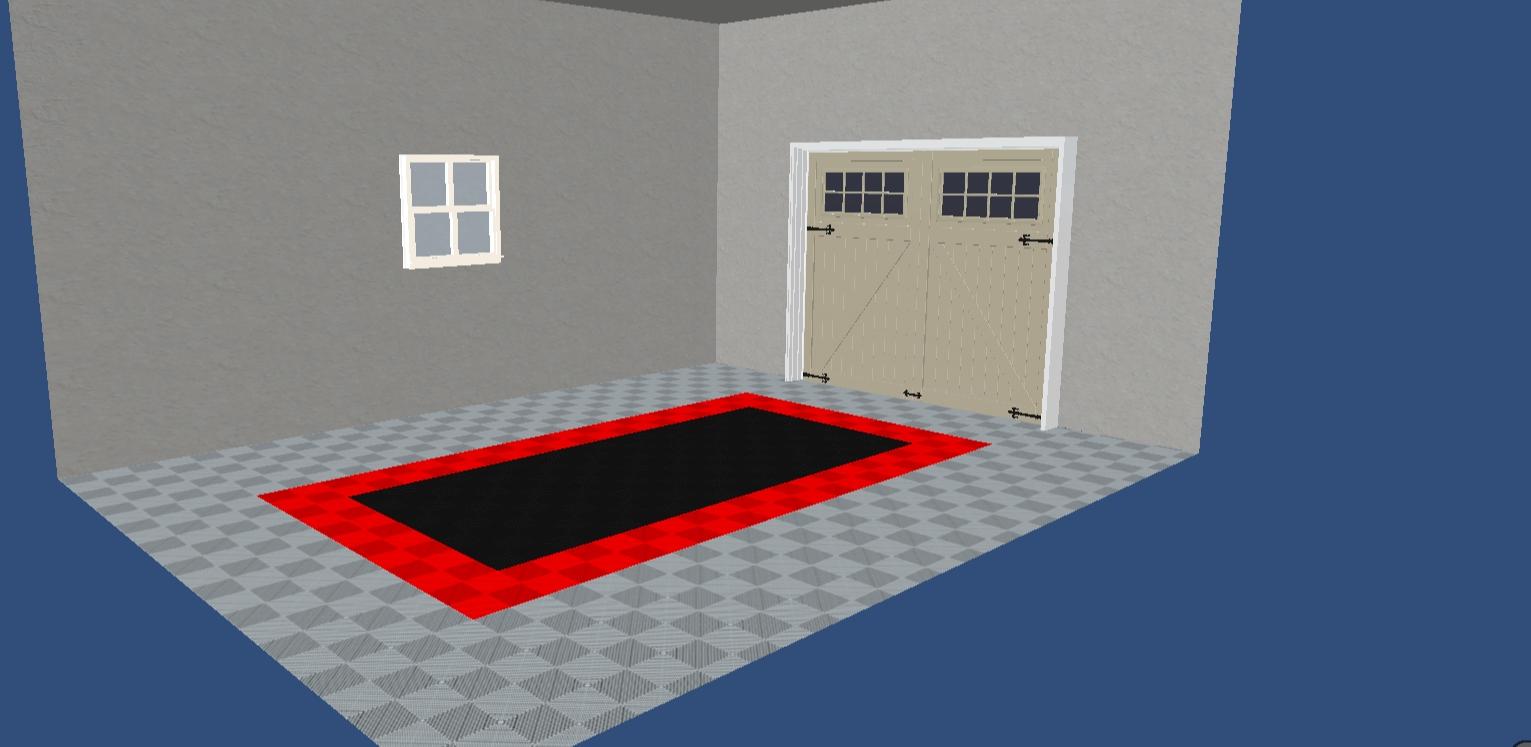 simulation sol de garage