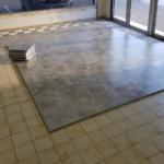 sol pour magasin