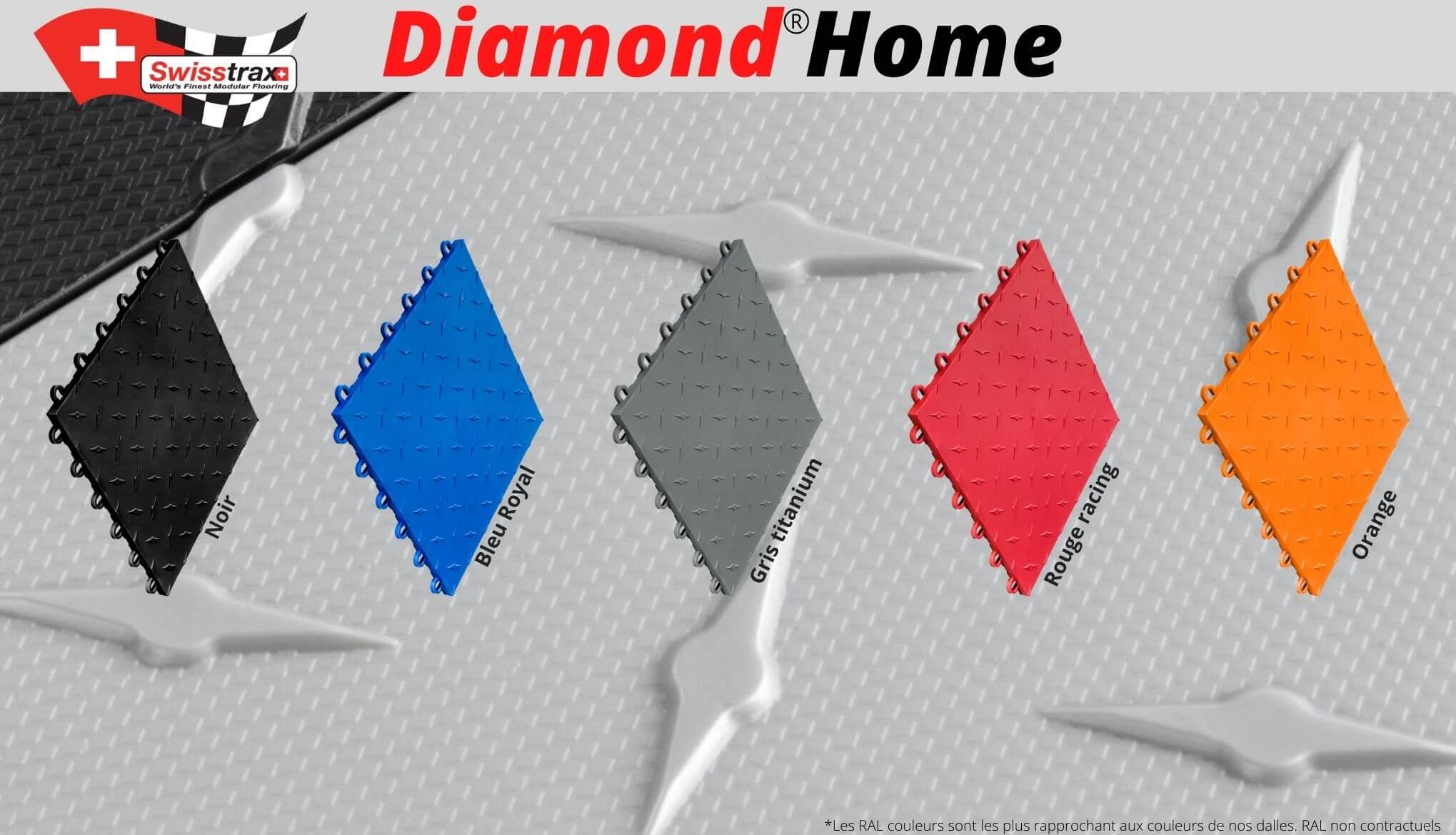 couleurs dalles de sol diamond