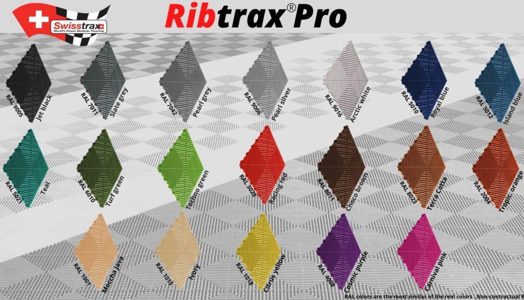 ribtrax pro colors