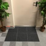 dalles sol moquette