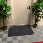tapis sol entée