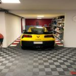 dalles de sol garage