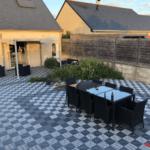 dalles clipsables de terrasse