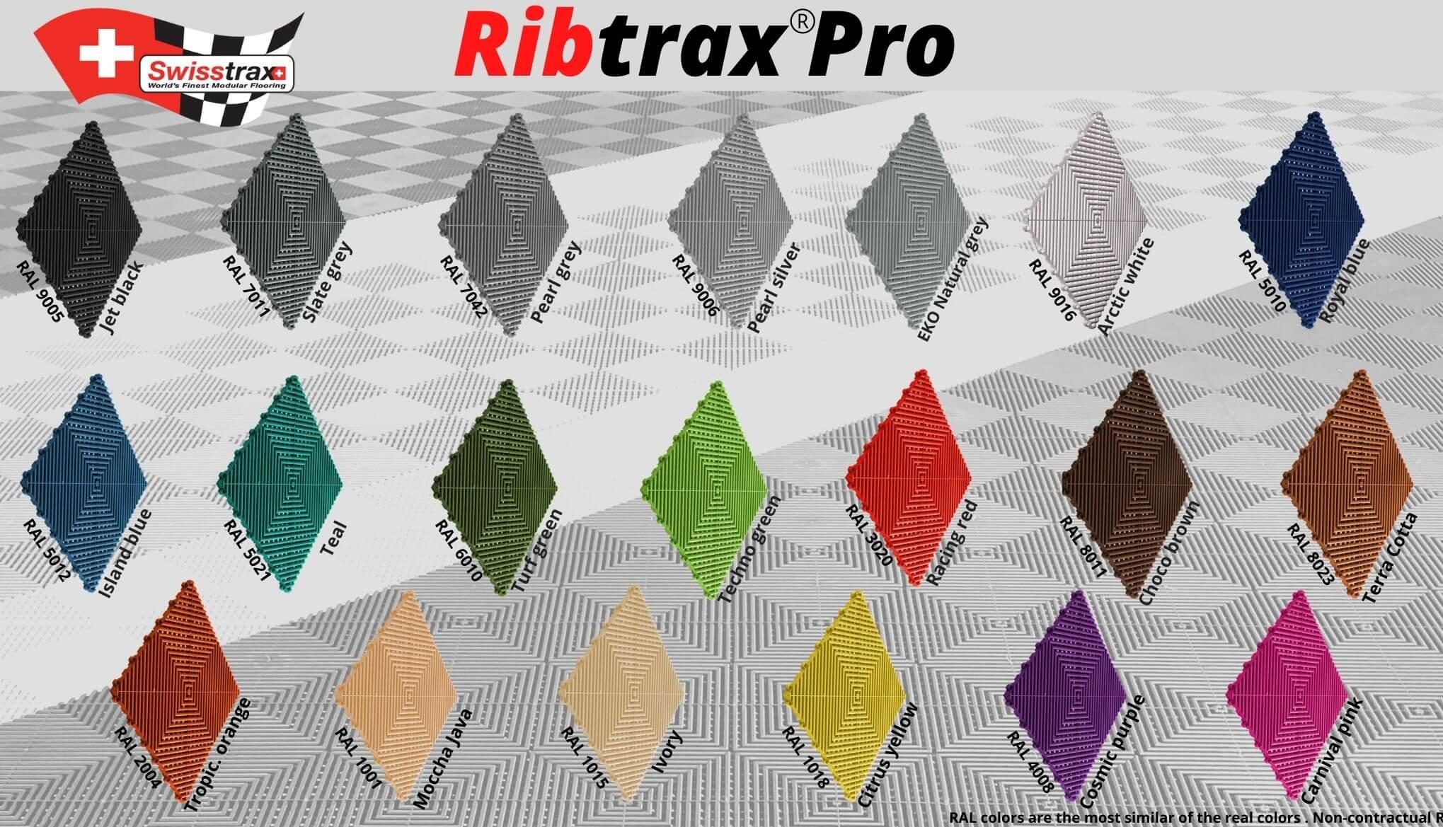 ribtrax colors