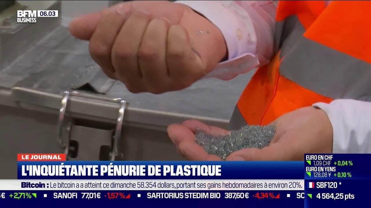 pénurie plastique